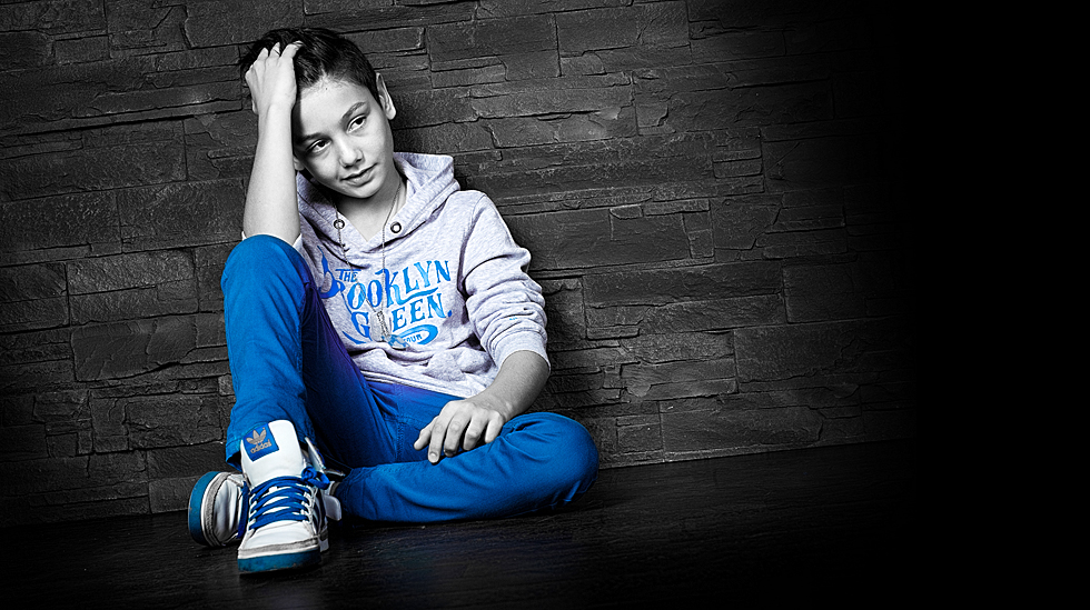 junge nackte teenager bekleidung blau
